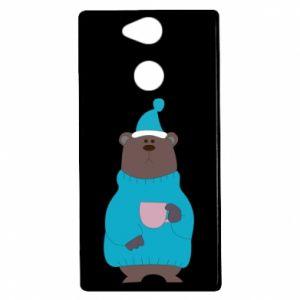 Sony Xperia XA2 Case Teddy bear in pajamas