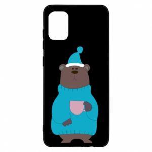 Samsung A31 Case Teddy bear in pajamas