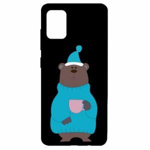 Samsung A51 Case Teddy bear in pajamas