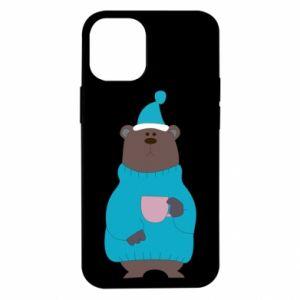 iPhone 12 Mini Case Teddy bear in pajamas