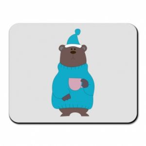 Mouse pad Teddy bear in pajamas