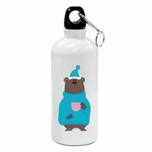 Water bottle Teddy bear in pajamas