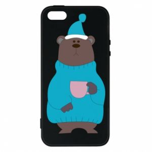 iPhone 5/5S/SE Case Teddy bear in pajamas