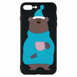 iPhone 7 Plus case Teddy bear in pajamas