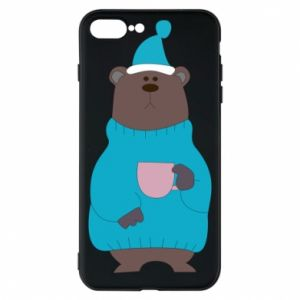 iPhone 8 Plus Case Teddy bear in pajamas