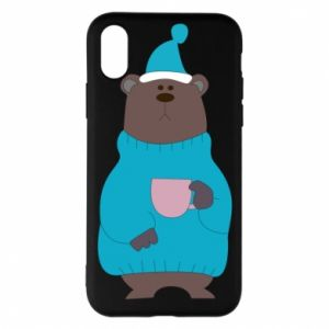 iPhone X/Xs Case Teddy bear in pajamas