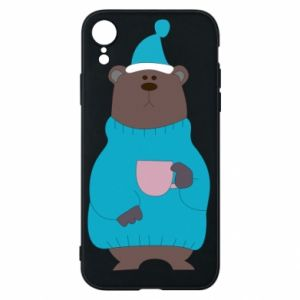 iPhone XR Case Teddy bear in pajamas