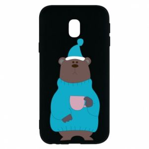 Samsung J3 2017 Case Teddy bear in pajamas
