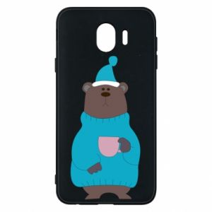 Samsung J4 Case Teddy bear in pajamas