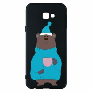 Samsung J4 Plus 2018 Case Teddy bear in pajamas