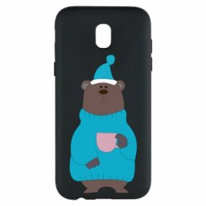 Samsung J5 2017 Case Teddy bear in pajamas