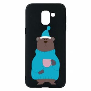 Samsung J6 Case Teddy bear in pajamas