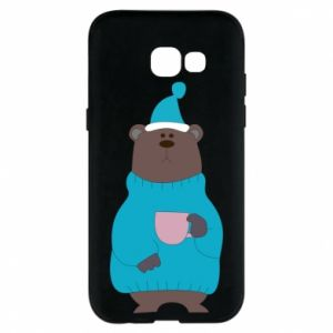 Samsung A5 2017 Case Teddy bear in pajamas