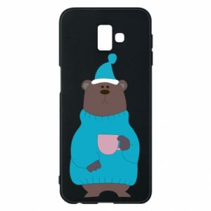 Samsung J6 Plus 2018 Case Teddy bear in pajamas