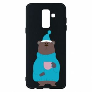 Samsung A6+ 2018 Case Teddy bear in pajamas