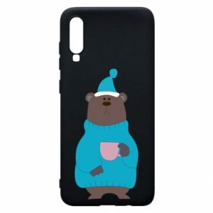 Samsung A70 Case Teddy bear in pajamas