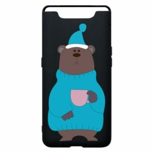 Samsung A80 Case Teddy bear in pajamas