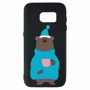Samsung S7 Case Teddy bear in pajamas