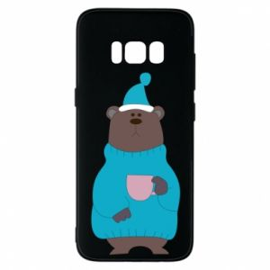 Samsung S8 Case Teddy bear in pajamas