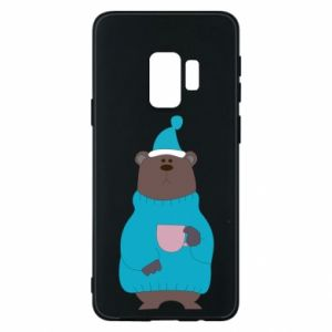 Samsung S9 Case Teddy bear in pajamas