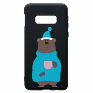 Samsung S10e Case Teddy bear in pajamas