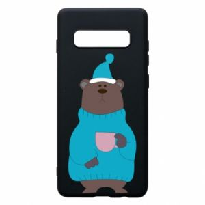 Samsung S10+ Case Teddy bear in pajamas