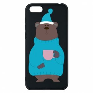 Huawei Y5 2018 Case Teddy bear in pajamas