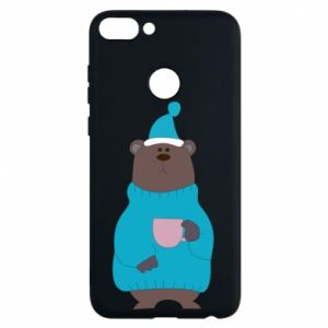 Huawei P Smart Case Teddy bear in pajamas