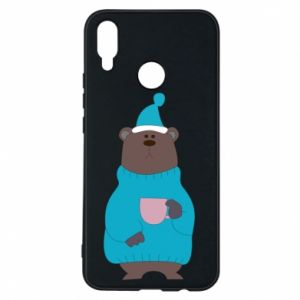 Huawei P Smart Plus Case Teddy bear in pajamas