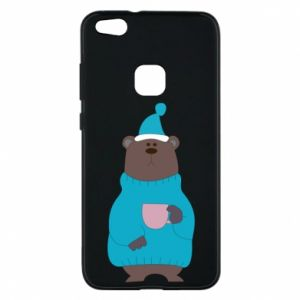 Huawei P10 Lite Case Teddy bear in pajamas