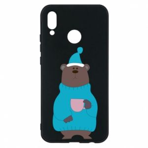 Huawei P20 Lite Case Teddy bear in pajamas