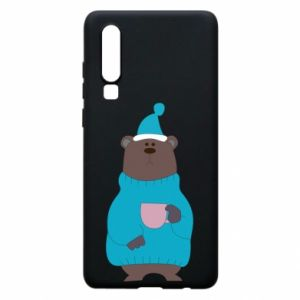 Huawei P30 Case Teddy bear in pajamas