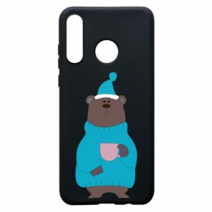 Huawei P30 Lite Case Teddy bear in pajamas
