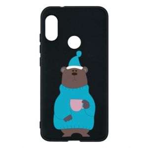 Mi A2 Lite Case Teddy bear in pajamas