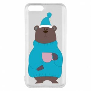 Xiaomi Mi6 Case Teddy bear in pajamas