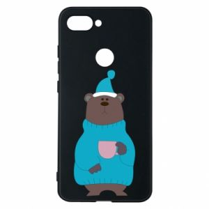 Xiaomi Mi8 Lite Case Teddy bear in pajamas