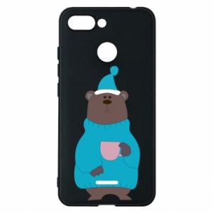 Xiaomi Redmi 6 Case Teddy bear in pajamas