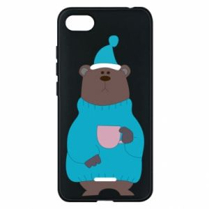 Xiaomi Redmi 6A Case Teddy bear in pajamas