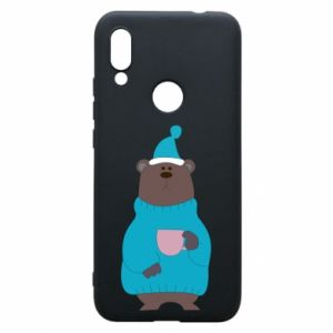Xiaomi Redmi 7 Case Teddy bear in pajamas