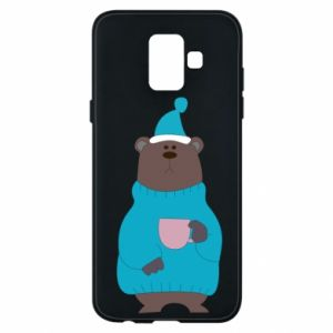 Samsung A6 2018 Case Teddy bear in pajamas