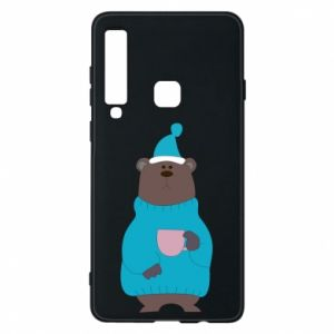 Samsung A9 2018 Case Teddy bear in pajamas