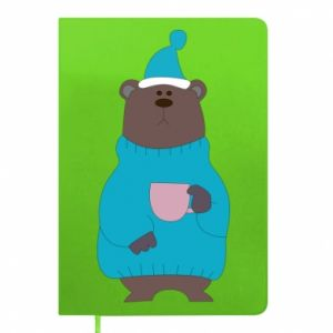 Notepad Teddy bear in pajamas