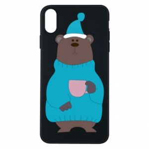 iPhone Xs Max Case Teddy bear in pajamas