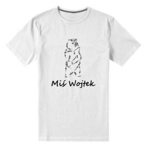 Men's premium t-shirt Wojtek the Bear