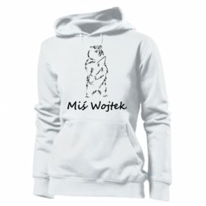 Women's hoodies Wojtek the Bear