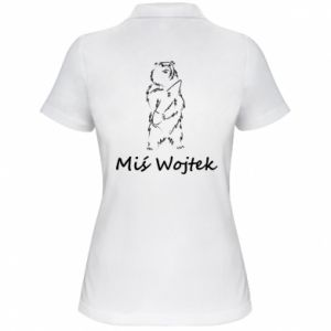 Women's Polo shirt Wojtek the Bear