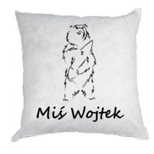 Pillow Wojtek the Bear