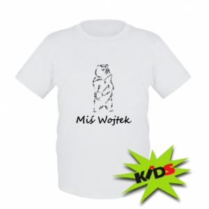 Kids T-shirt Wojtek the Bear