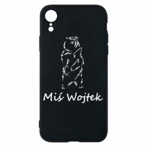 Phone case for iPhone XR Wojtek the Bear