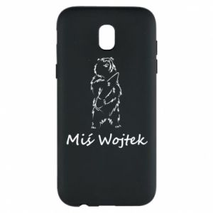 Phone case for Samsung J5 2017 Wojtek the Bear